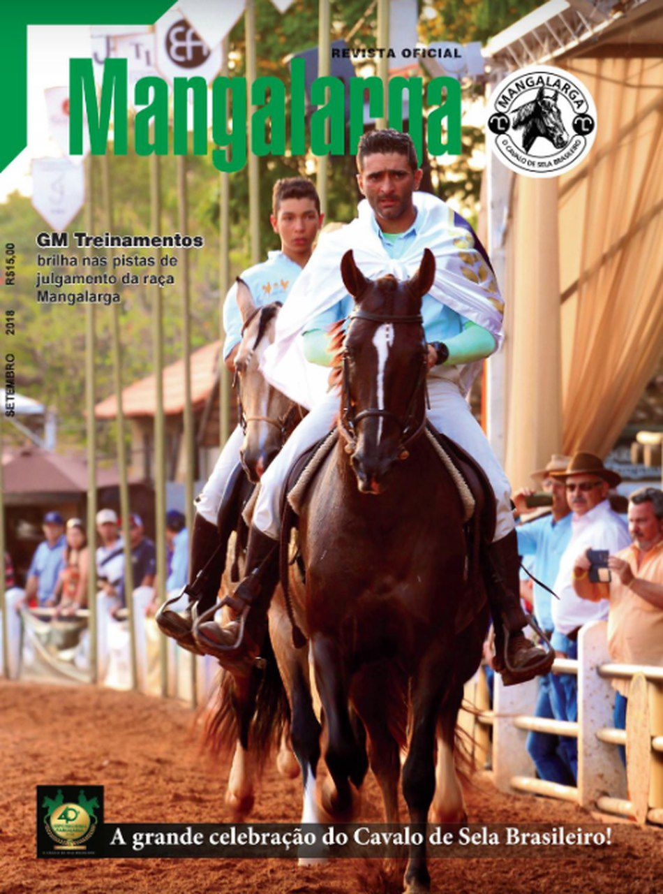 Revista Mangalarga Setembro 2018  - Boutique Mangalarga