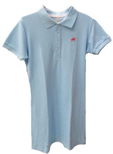 "Vestido Feminino ""M"" Azul Claro  - Boutique Mangalarga"