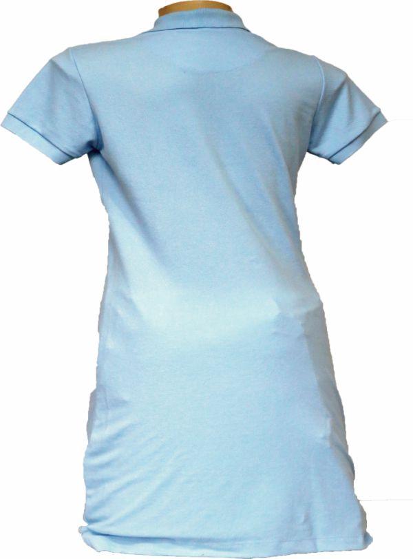 Vestido Polo Azul Bebê  - Boutique Mangalarga