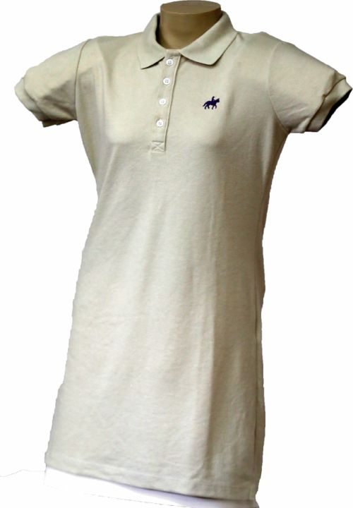 Vestido Polo Bege  - Boutique Mangalarga