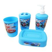 Kit para Banheiro - Disney Carros - 4 Itens
