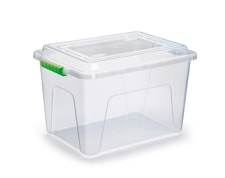 Caixa Organizadora Transparente - 12 litros  - Eu Organizo