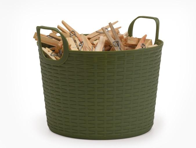 Cesto Multiuso Bamboo 3 Litros  - Eu Organizo