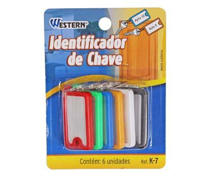 Chaveiro Identificador de Chaves  - Eu Organizo