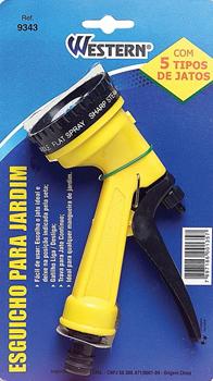 Esguicho para mangueira - 05 Funções  - Eu Organizo