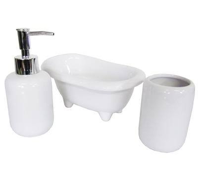 Jogo de Porcelana para Banheiro  - Eu Organizo