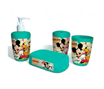 Kit para banheiro - Mickey  - Eu Organizo