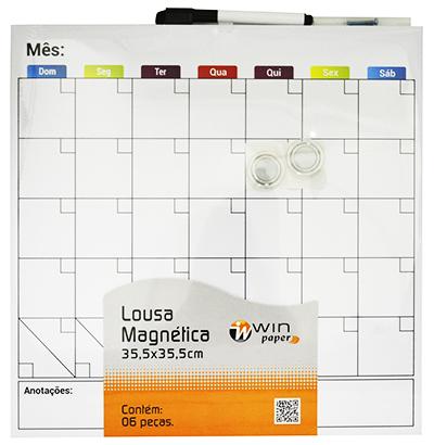 Lousa Magnética Mensal  - Eu Organizo