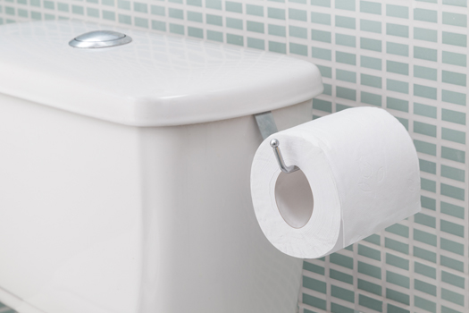 Suporte para papel higiênico  - Eu Organizo