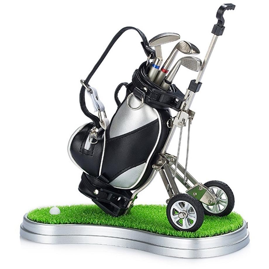 mini kit de golf de mesa loja de presentes criativos e. Black Bedroom Furniture Sets. Home Design Ideas