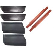 Jogo de Remendo e Caixa de Ar com 6 peças para Opala 2 portas