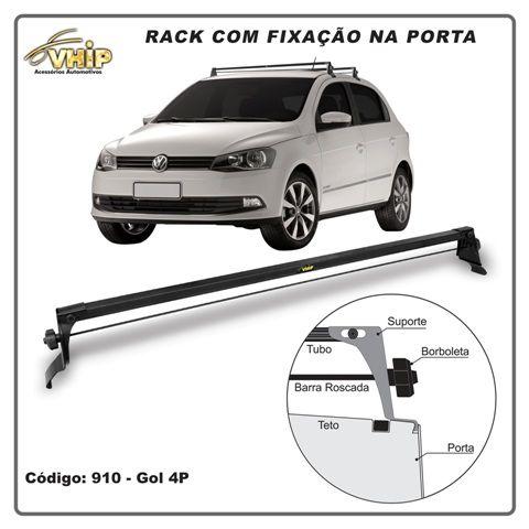 RACK TRAVESSA GOL G2 G3 G4 4 PORTAS FIXAÇÃO PORTA VHIP 910