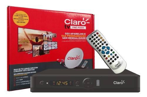 Receptor Claro Tv Pré Pago Visiontec Habilitação Grátis 5 Un