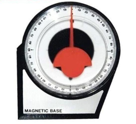 Inclinometro Base Magnetica