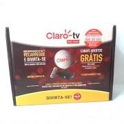 Receptor Claro TV Pré-Pago Livre por Dois Anos