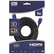 Cabo Hdmi 1.4 4K Ultra Hd 3D 5 Metros