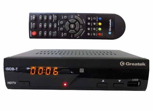 Conversor Digital I Isdb-T G2000 Full Hd Greatek