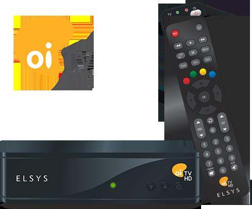 Receptor Digital Elsys Oi TV Hd Etrs35