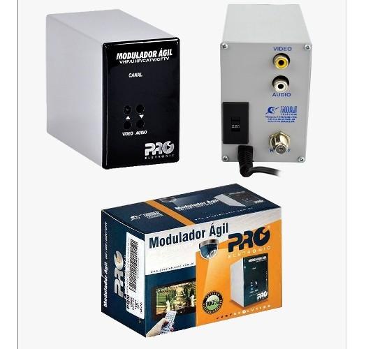 Modulador Ágil Vhf/uhf/catv/cftv Pqmo-2600 Proeletronic