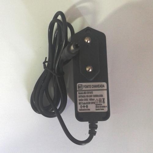 Fonte Estabilizada Chaveada Mxt Para Cftv 12V-1A Com Led
