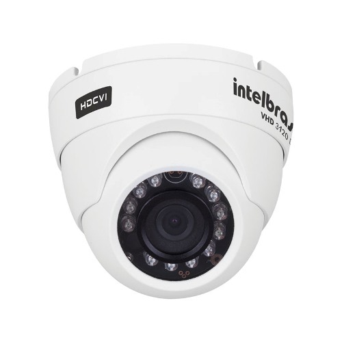 Câmera Intelbras Hdcvi Dome Hd Vhd 3020d 2.8mm G2