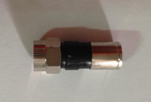 Conector Rg59 De Compressão (pacote Com 5 Unidades)