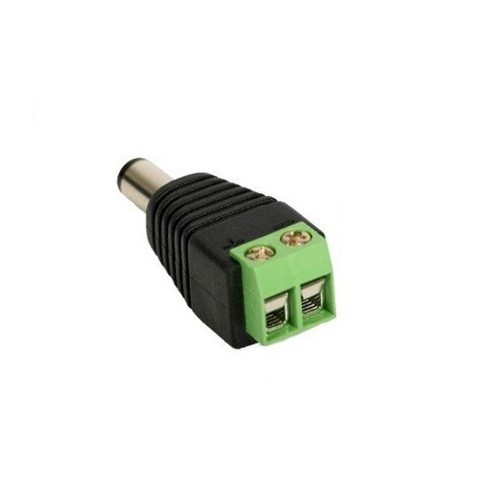 Conector P4 Macho com Borne Pacote  c/ 5 Peças