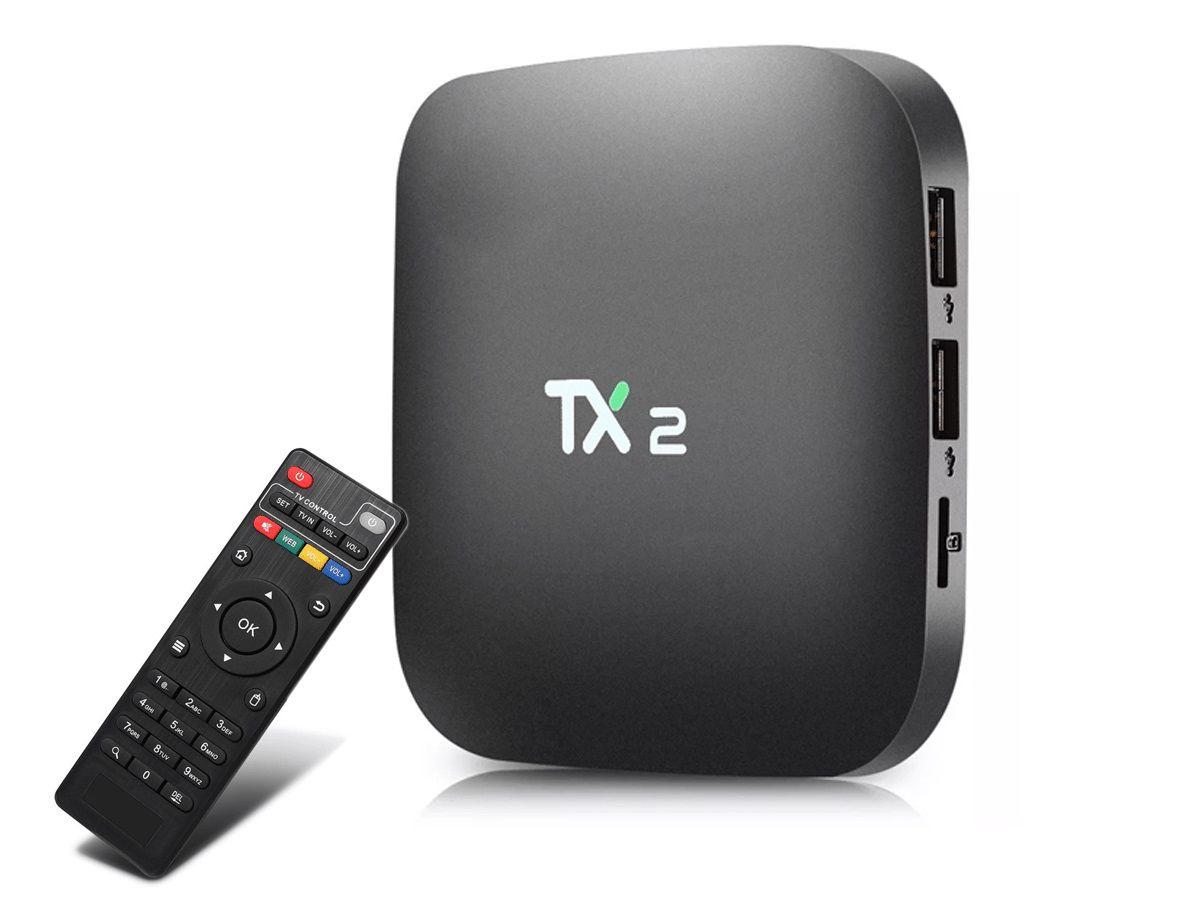 Conversor Smart Tv 4K Web Tx2 16gb Bluetooth + Mini Teclado Led