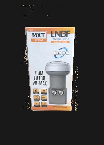 Lnbf Duplo Universal Ku MXT