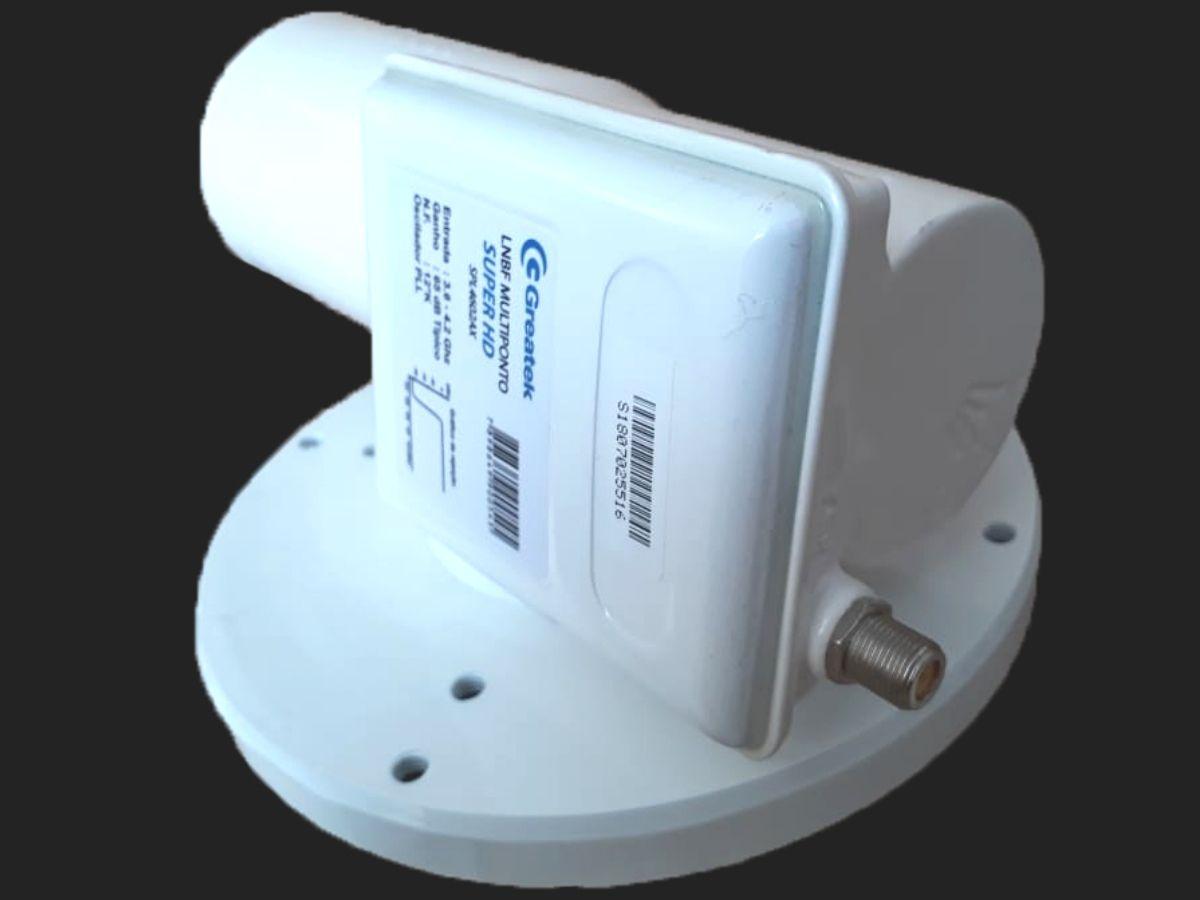 LNBF Multiponto SPL4602AX Amplificador Super HD Banda C
