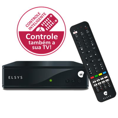 Receptor Digital Elsys Oi TV Hd Etrs44