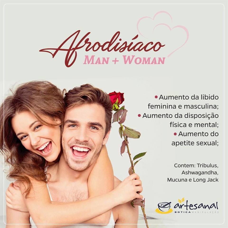 AFRODISÍACO MAN + WOMAN - 30 Cápsulas