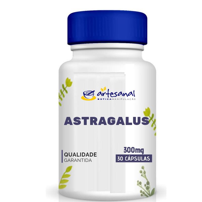 Astragalus - Fórmula para Rinite - 300mg 30 Cápsulas