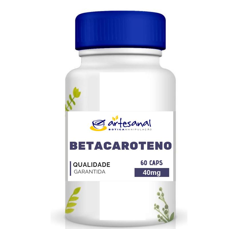 Betacaroteno - 60 cápsulas