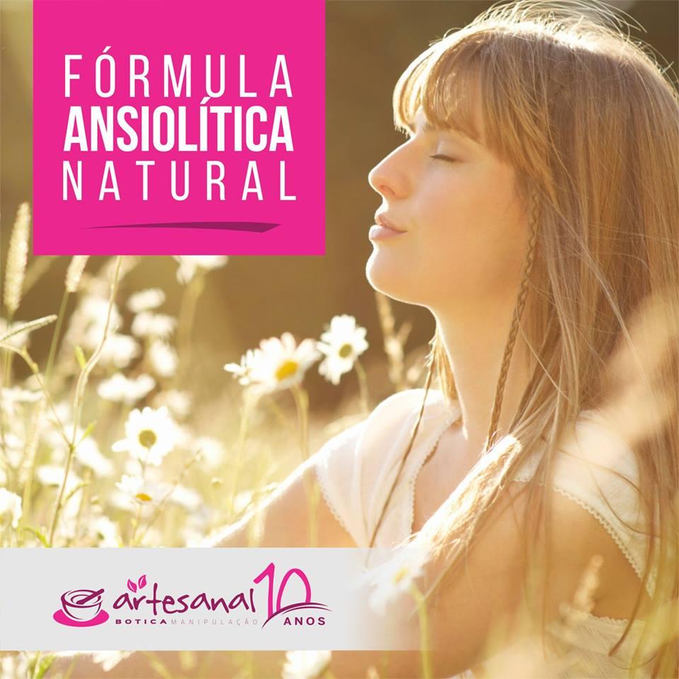 Cápsulas para Ansiedade - Fórmula Ansiolitica Natural - 30 Cápsulas