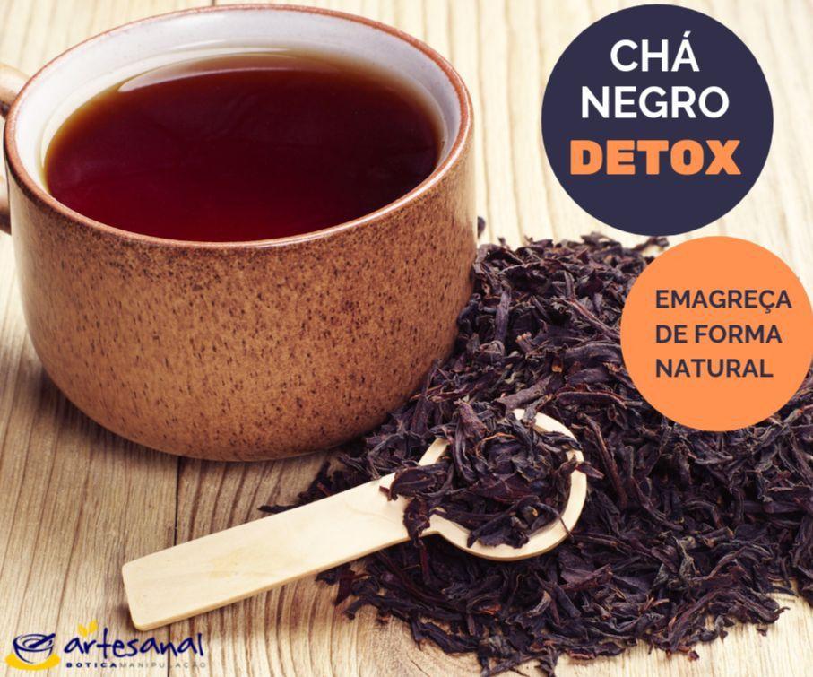 Chá Negro Detox - 30 Sachês