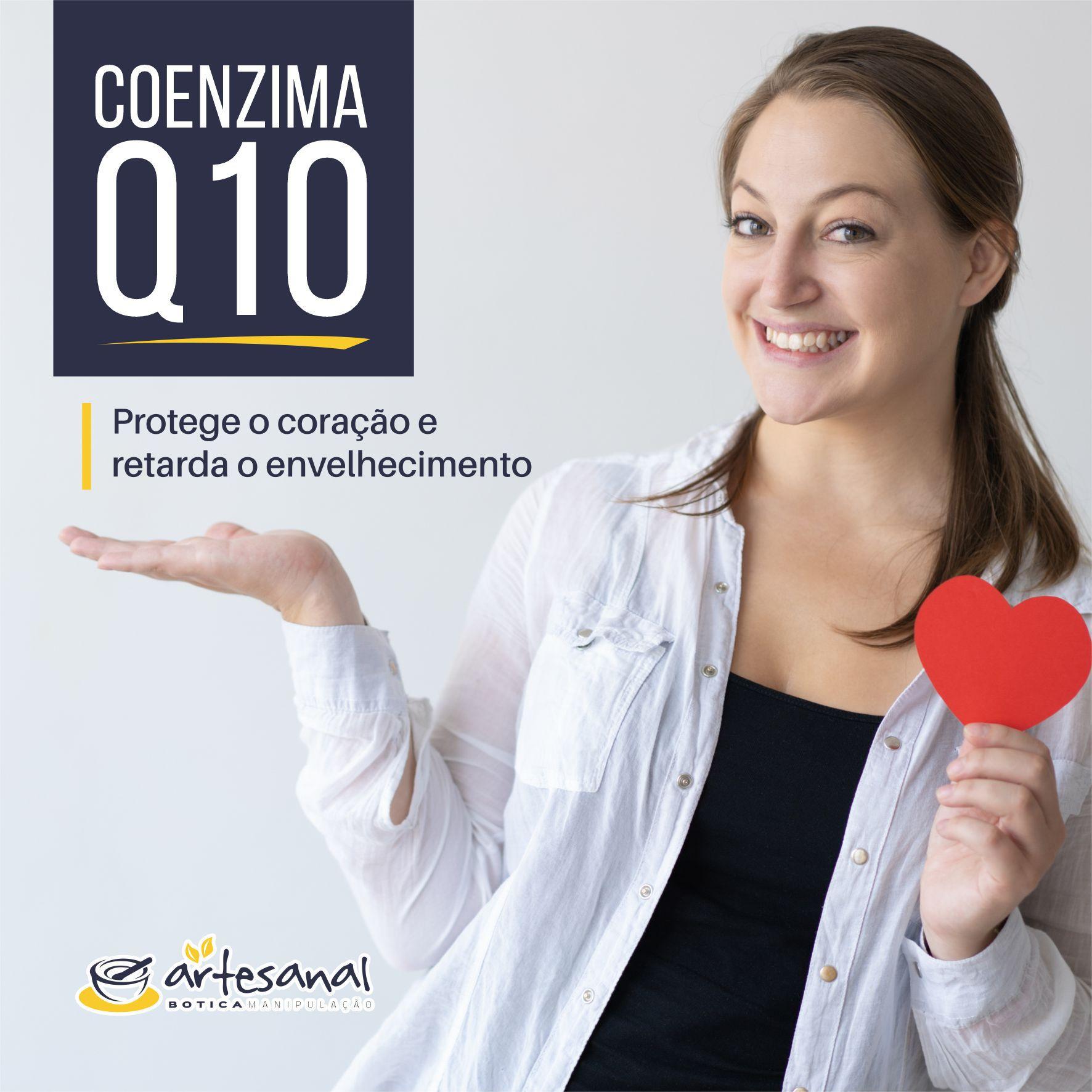 Coenzima Q10 100mg - 30 Cápsulas