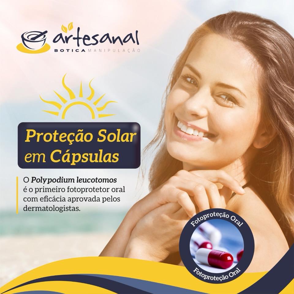 Composto Fotoprotetor Oral - 30 Cápsulas