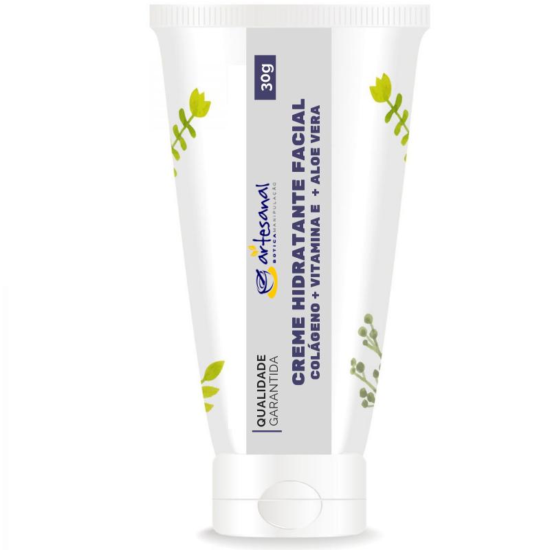 Creme de Hidratação Facial com Colágeno - 30g