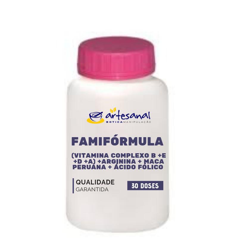 FamiFórmula Ela - Fórmula para Fertilidade 30 Doses
