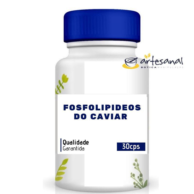 Fosfolipídeos do Caviar 200mg - 30 Cápsulas