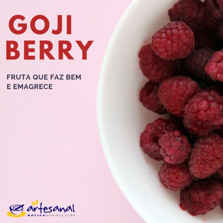 Goji Berry 100mg - 60 Cápsulas