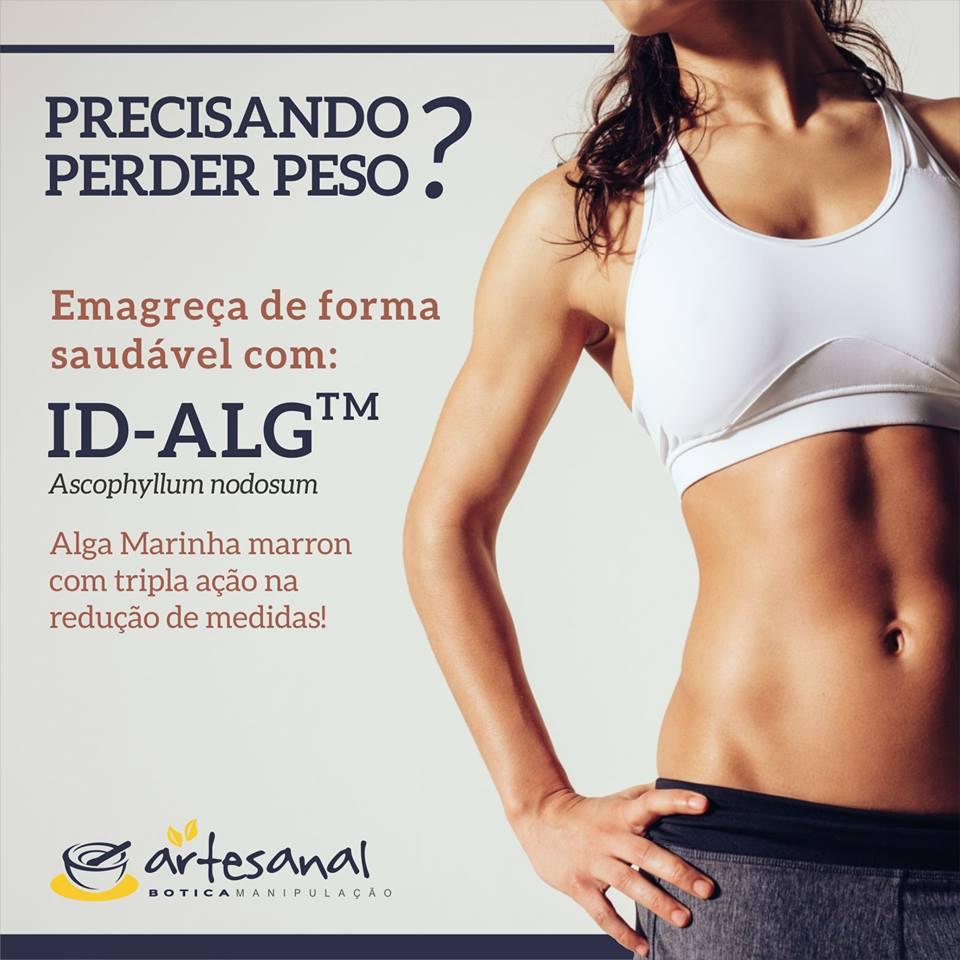 ID-alG 200mg - 45 Cápsulas - Artesanal Botica
