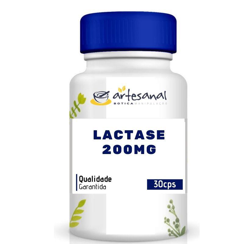 Lactase 200mg - 30 Cápsulas