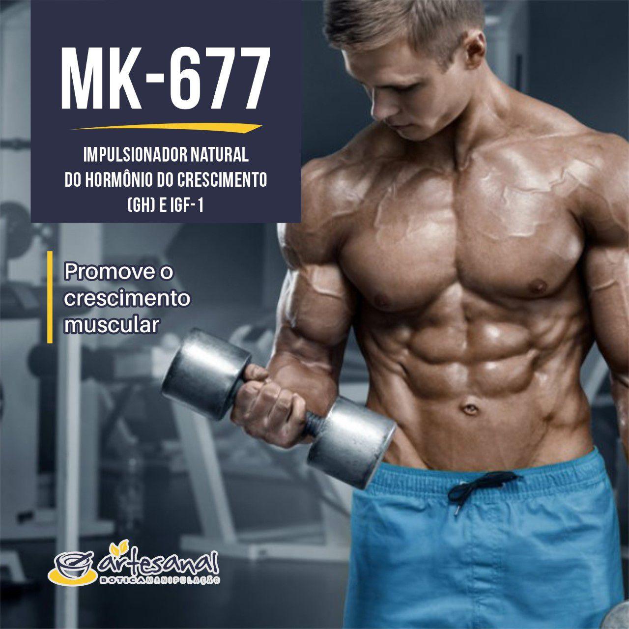 MK-677 (Ibutamoren) 10mg  - 30 Cápsulas
