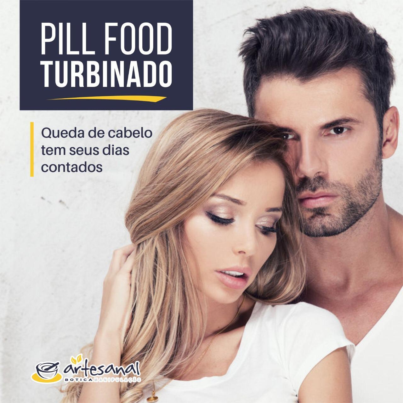 Pill Food Turbinado - 60 Cápsulas