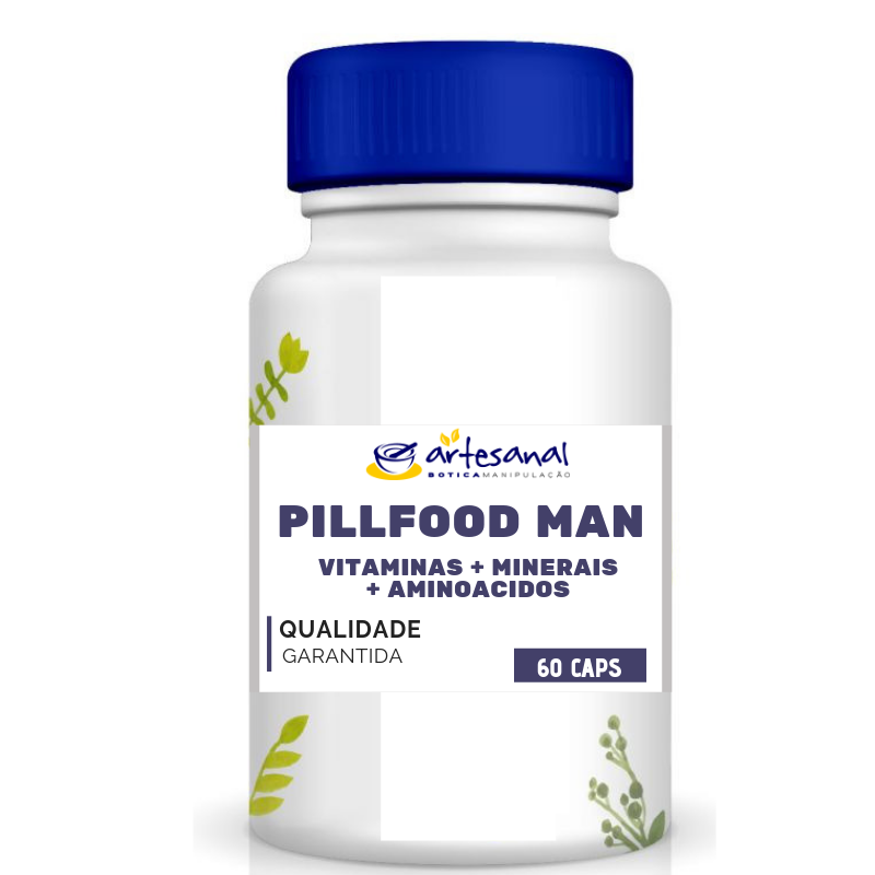 Pill Food Man - 60 Cápsulas