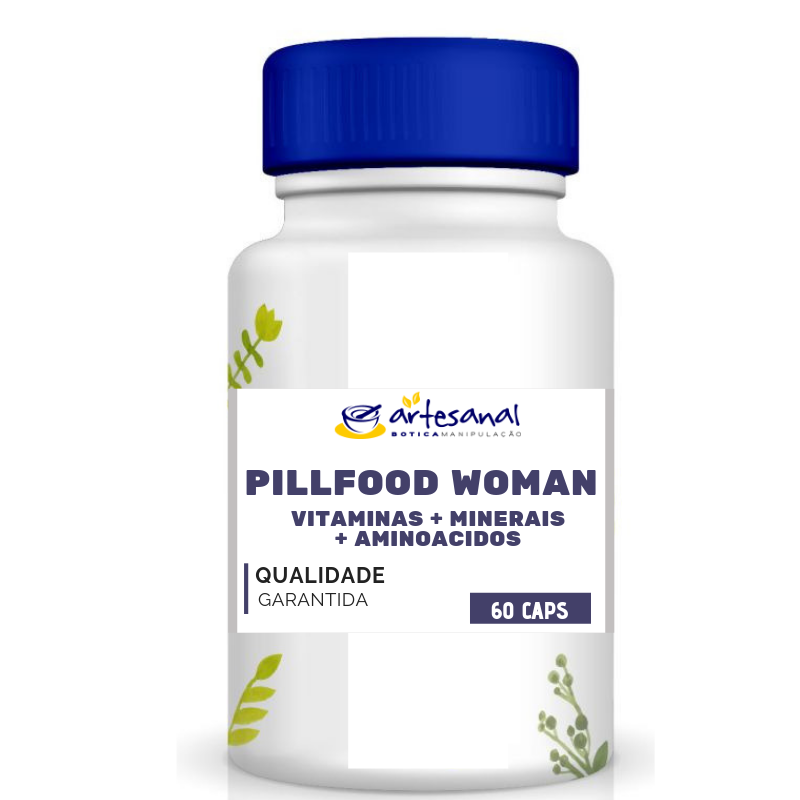 Pill Food Woman - 60 Cápsulas