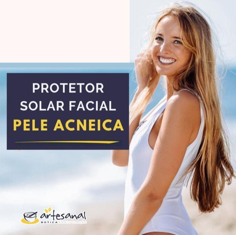 Protetor Solar Facial Matte para Pele Acneica - FPS 30 - 60g