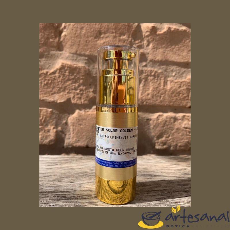 Protetor Solar Golden - 30gramas